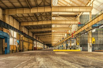 Renovatie van de productiehal