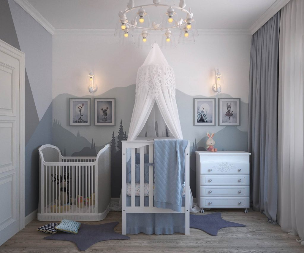 opletten bij babykamer